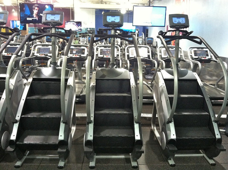 gym pros stairmasters